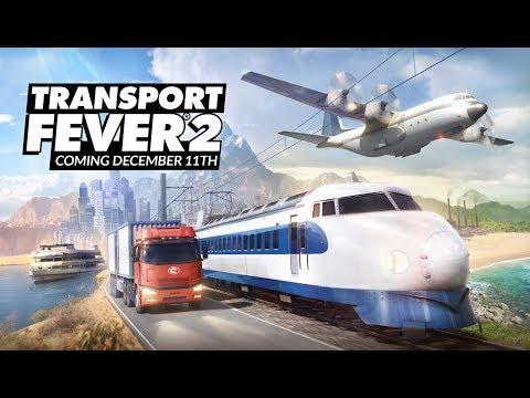 Transport Fever 2 - In Depth Gameplay Showcase (Pre-Order Now)