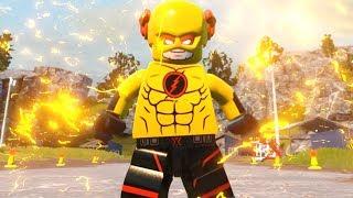 LEGO DC Super Villains - How To Make CW Reverse Flash Custom Speedster
