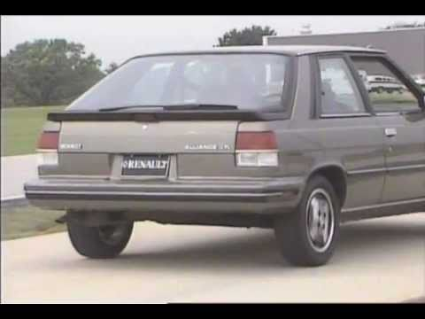 Official AMC Renault video : Renault Alliance vs competitors - 1987