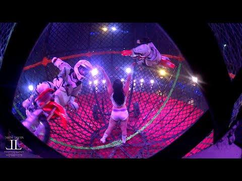 Inside the GLOBE of DEATH with the Sony Action Cam at Circus Vargas by Jason Lanier