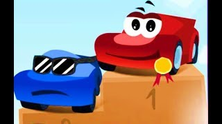 Машинки мультик. Мультики про красную машинку все серии ПОДРЯД! Red car video for kids