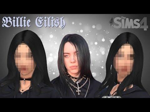 Making Billie Eilish In The Sims 4 - Create A Sim