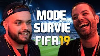 FIFA19 NEW MODE SURVIVAL - Feat PSG ROCKY