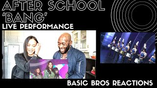 Basic Bros REACT | AFTER SCHOOL 'BANG'