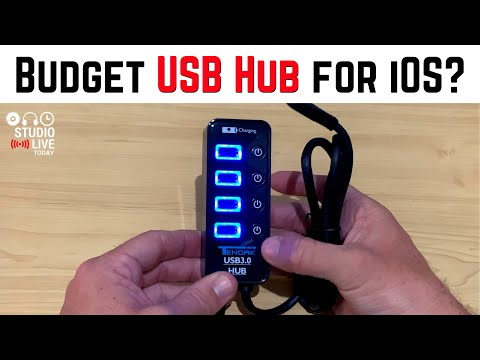 Powered USB Hub for under $20?
