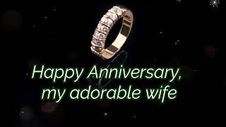 Happy Wedding Anniversary Wishes, Greetings, Quotes Sayings, Status & Messages for My Wife