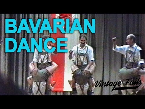 Vintage Fails - Bavarian dance - Old but funny!