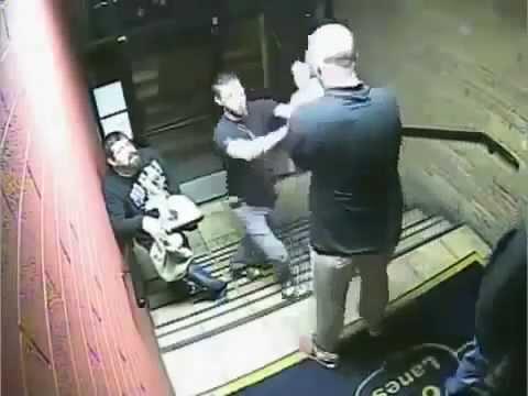Рамс реальных пацанчиков на лестнице