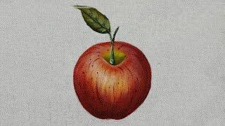 Como pintar maçã
