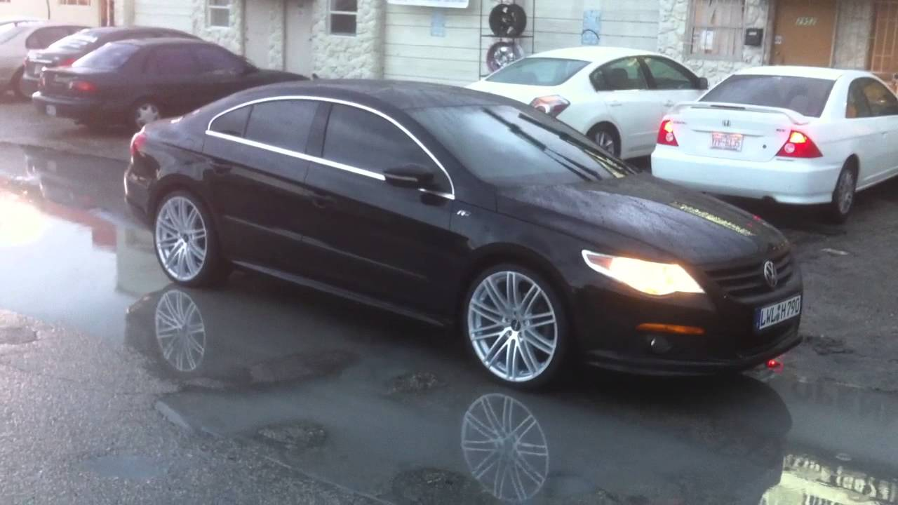 DUBSandTIRES.com 20 Inch Ruff Racing 955 Wheels 2010 Volkswagen CC Hypersilver Rims Miami - YouTube