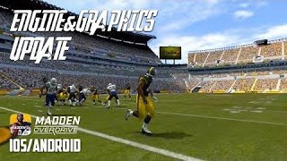 MADDEN NFL OVERDRIVE - GRAPHICS / ENGINE UPDATE - iOS / Android GAMEPLAY