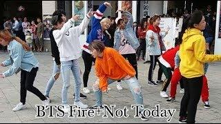 Video 2017.10.29 DAZZLING五週年西門町公演活動(14)BTS(방탄소년단)-Fire+Not Today (dance cover) download MP3, 3GP, MP4, WEBM, AVI, FLV Agustus 2018