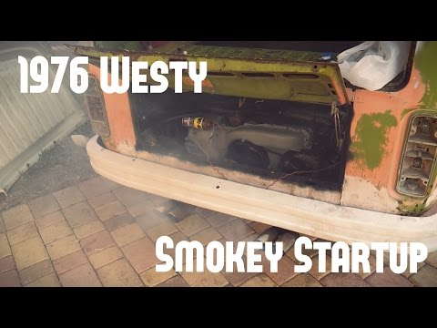 VW Bus (Westfalia) Restoration Part: 4 First Engine start-up!