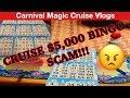 CRUISE SHIP BINGO SCAM 😡   Carnival Magic Cruise 2019   Vlog 8   Last Day Celebration