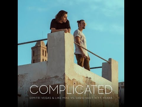 DAVID GUETTA-COMPLICATED LYRICS VIDEO