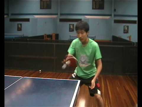 Penhold Techniques For Table Tennis Youtube