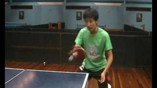 Penhold Techniques for Table Tennis