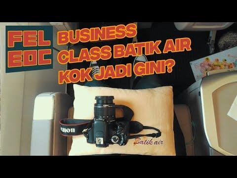 Batik Air, Solo-Jakarta | Business Class