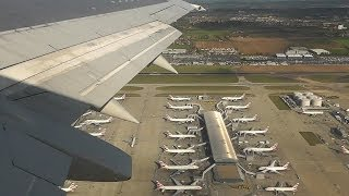 LOT - Boeing 737-400 - Spectacular takeoff from London Heathrow Airport