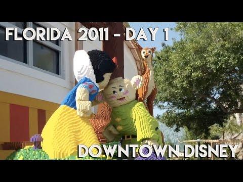 Orlando Florida Vacation Vlog 2011 | DAY 1 Downtown Disney (Disney Springs)