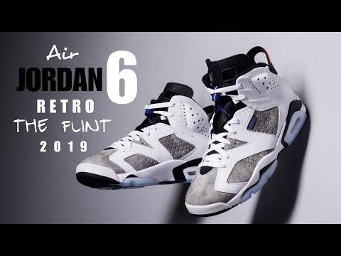 Air Jordan 6 Retro ' The Flint ' 2019 UNBOXING + CLOSER LOOK #jumpman #jordan #j9retro #theflint #23