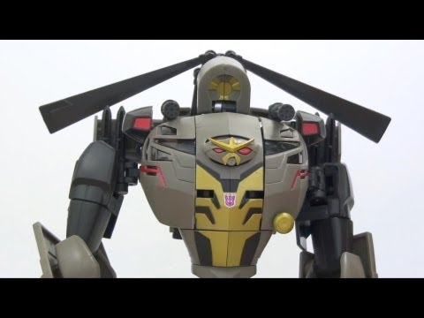 Video Review of the Transformers Animated: Blackout
