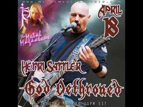Henri Sattler of God Dethroned interview on The Metal Magdalene w Jet