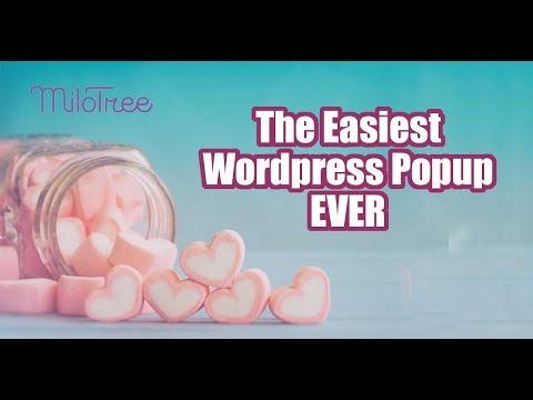 Popup Plugin For Your WordPress Blog - Milotree