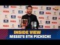 [BEHIND THE SCENES] Messi receives LaLiga 2017/18 top goal scorer award