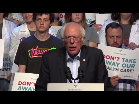 Don't Take Our Health Care Rally With Senator Bernie Sanders In Columbus, Ohio