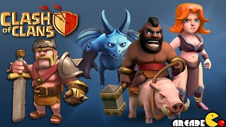 Clash of Clans: Clan Wars Battle Day! The Fire Dragons and Hog Riders Attack