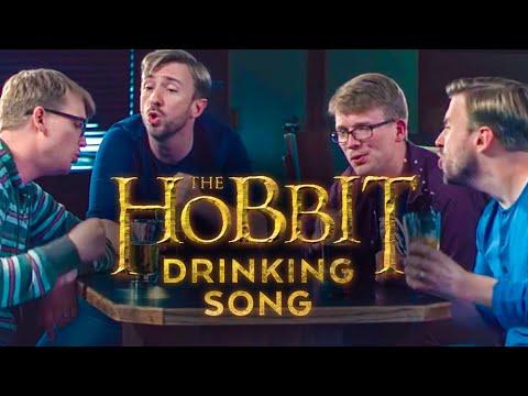 Hobbit Drinking Medley  Peter Hollens feat Hank Green!!