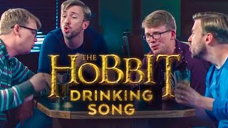 Hobbit Drinking Medley - Peter Hollens feat. Hank Green!!