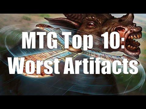 MTG Top 10: Worst Artifacts