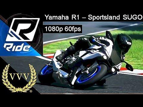 Ride - Yamaha R1, Sportsland Sugo