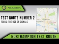 Northampton Driving Test Routes No. 2 - Use Of Signals
