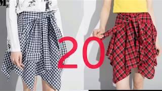 Клетка-модный принт в одежде 2018г (топ-25)