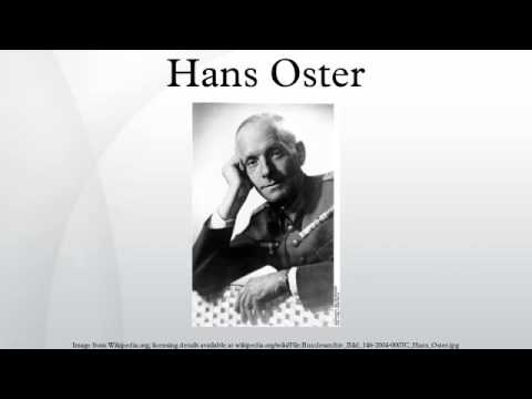 Image result for general hans oster
