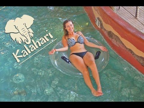 Kalahari Resort and Waterpark Vlog!!!
