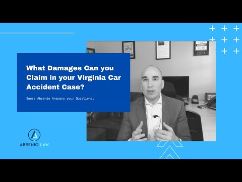 What damages can you claim in your Virginia car accident case?