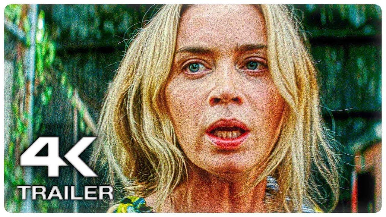 ТИХОЕ МЕСТО 2 Русский Трейлер #1 (4K ULTRA HD) НОВЫЙ 2020 Эмили Блант Horror Movie HD