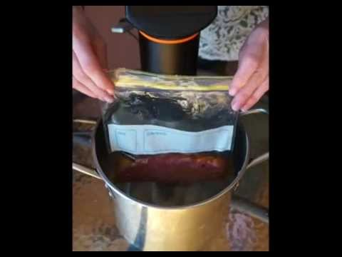 wine article Water Displacement Method for Sous Vide Cooking