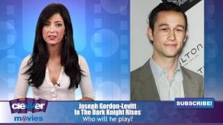 "Joseph Gordon-Levitt Joining ""The Dark Knight Rises"" Cast?"