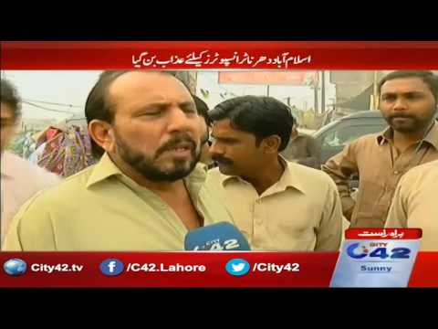 Islamabad protest was the punishment for transporters