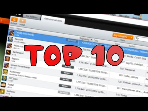 Top 10 Most Useful Addons for World of Warcraft - Legion Guide