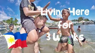 😇 3 Weeks LIVING in a POOR VILLAGE (Puerto Princesa) 🇵🇭
