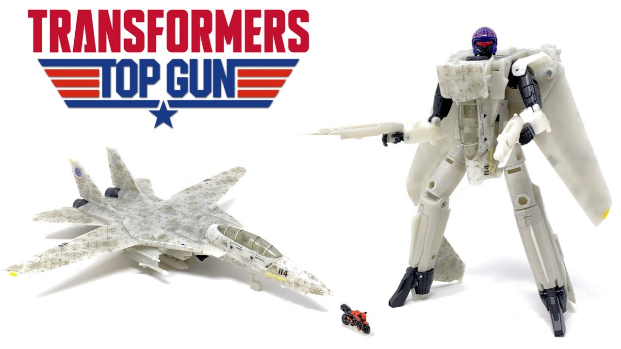 Transformers X Top Gun MAVERICK In-Hand Review by PrimeVsPrime