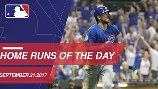 Check out all the homers around the Majors: 9/21/17