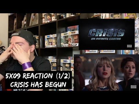 SUPERGIRL - 5x09 'CRISIS ON INFINITE EARTHS: PART ONE' REACTION (1/2)