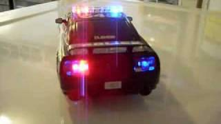 1 25 scale fully customized quot Barricade quot 10 R C cop car
